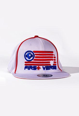 Red White & Blue  FV Hat - firstverseapparel