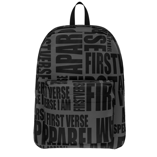 first verse apparel book bag