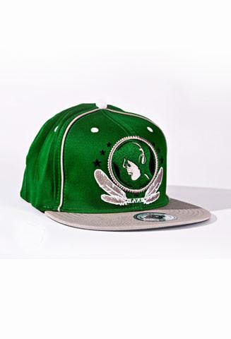 Gray & Green FV Hat - firstverseapparel