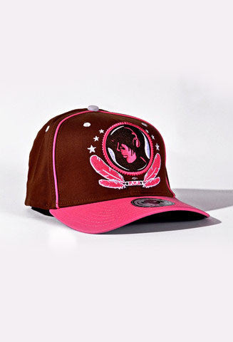 FV Pink & Brown Hat - firstverseapparel