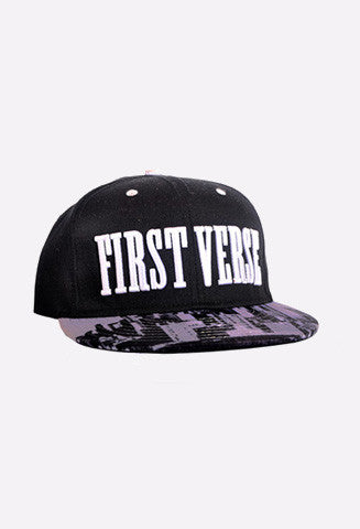 First Verse Hat with New York City - firstverseapparel