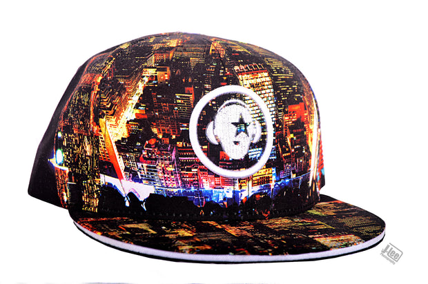 First Verse Night City Snap Back - firstverseapparel
