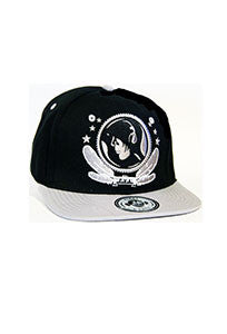 Grey And Black Snap Back