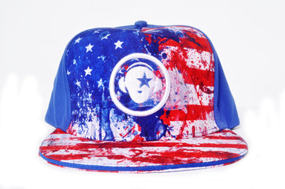 American Flag snapback - firstverseapparel