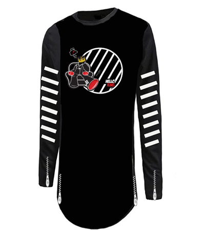 cartoon shirt long sleeve - firstverseapparel