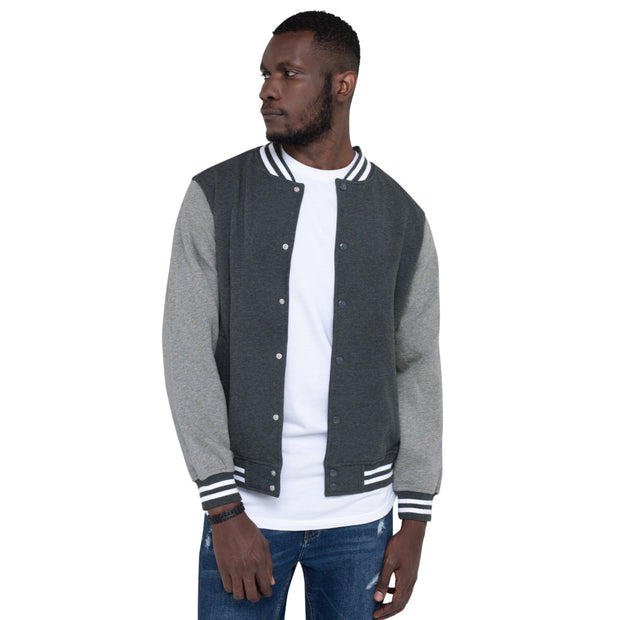 Men's Speak UR Verse Varsity Jacket - firstverseapparel