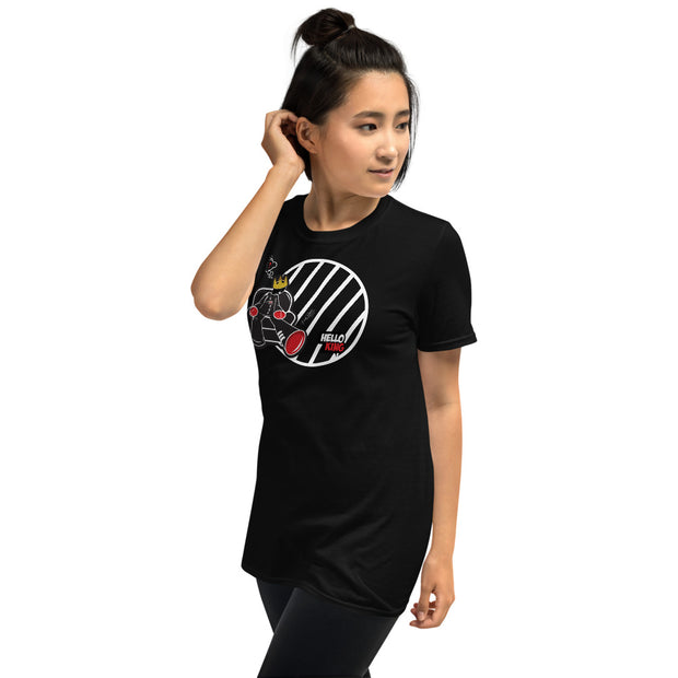 womens short sleeve cartoon  T-Shirt - firstverseapparel