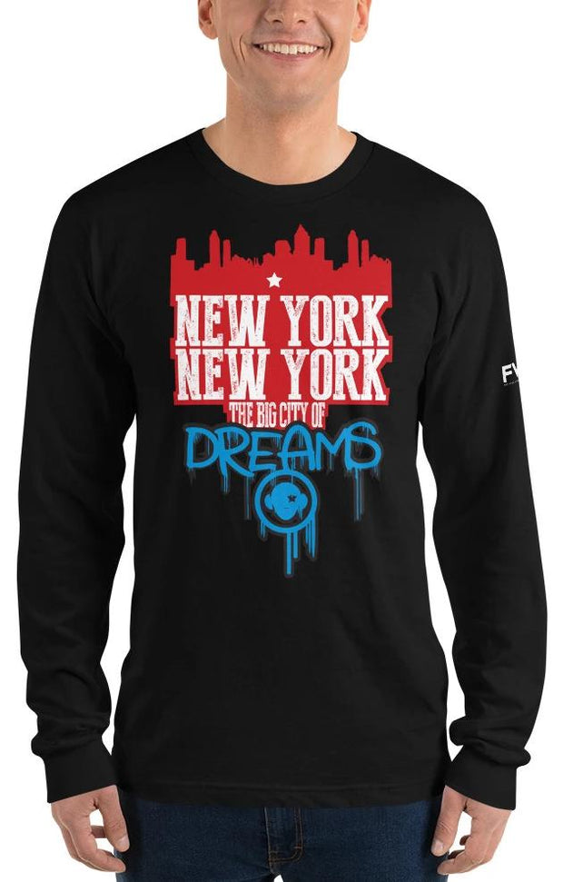 New York Long sleeve t-shirt - firstverseapparel