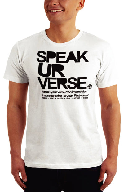 Speak Your Verse T-shirt - firstverseapparel