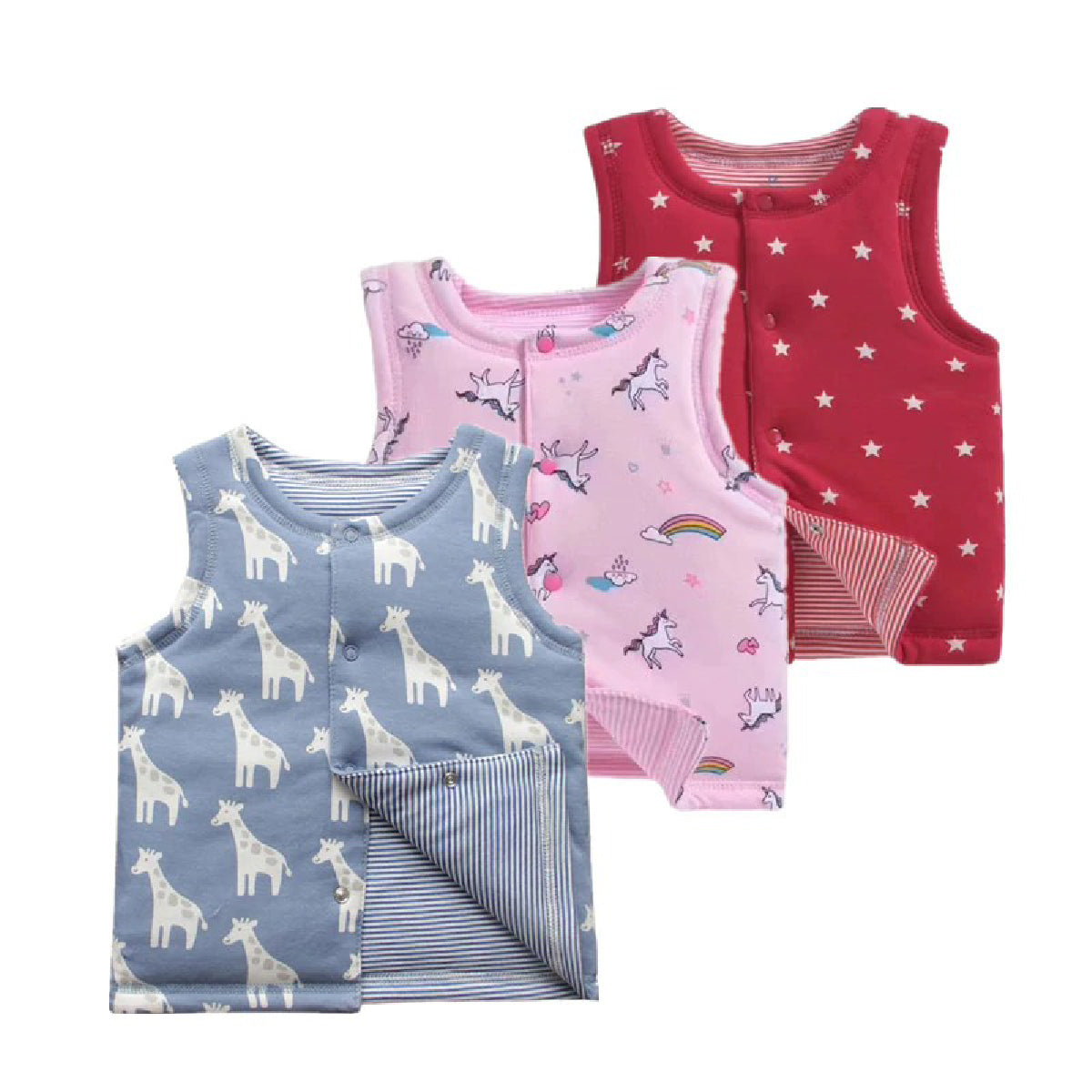 Baby Zone New Born Winter Cotton Vest ™