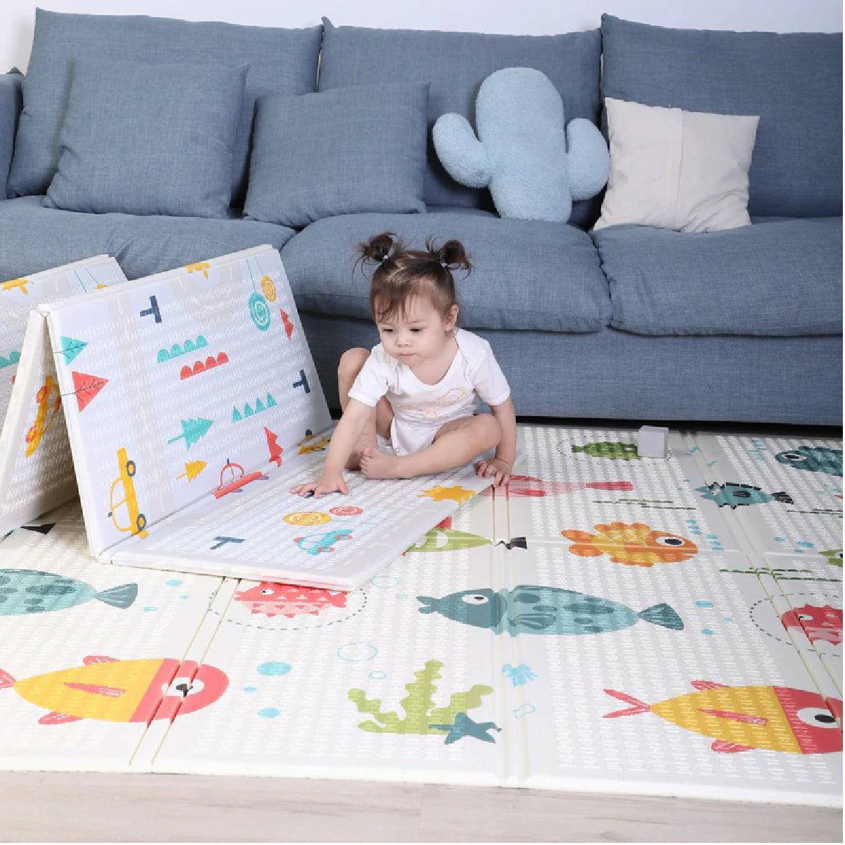 Baby Zone Cute Cartoon Play Mat ™