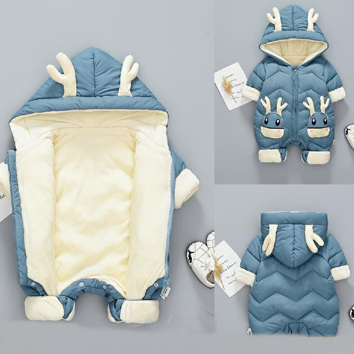 Baby Zone Cute Fawn Snowsuit ™
