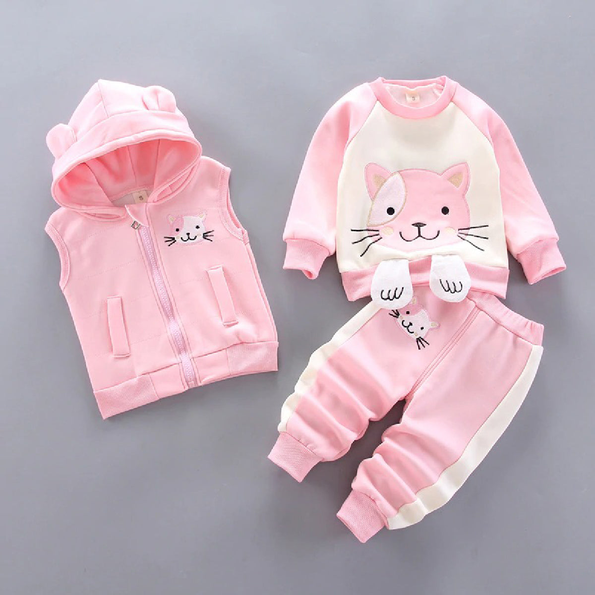 Baby Zone Animal Winter Outfit ™