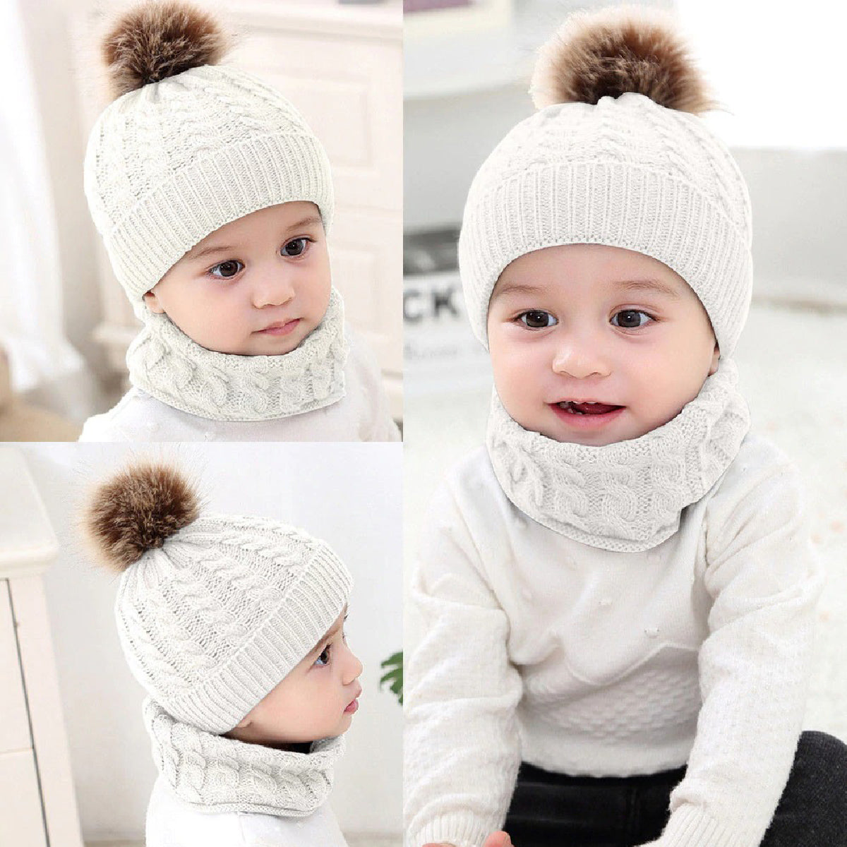 Baby Zone Knitted Beanie Hat ™