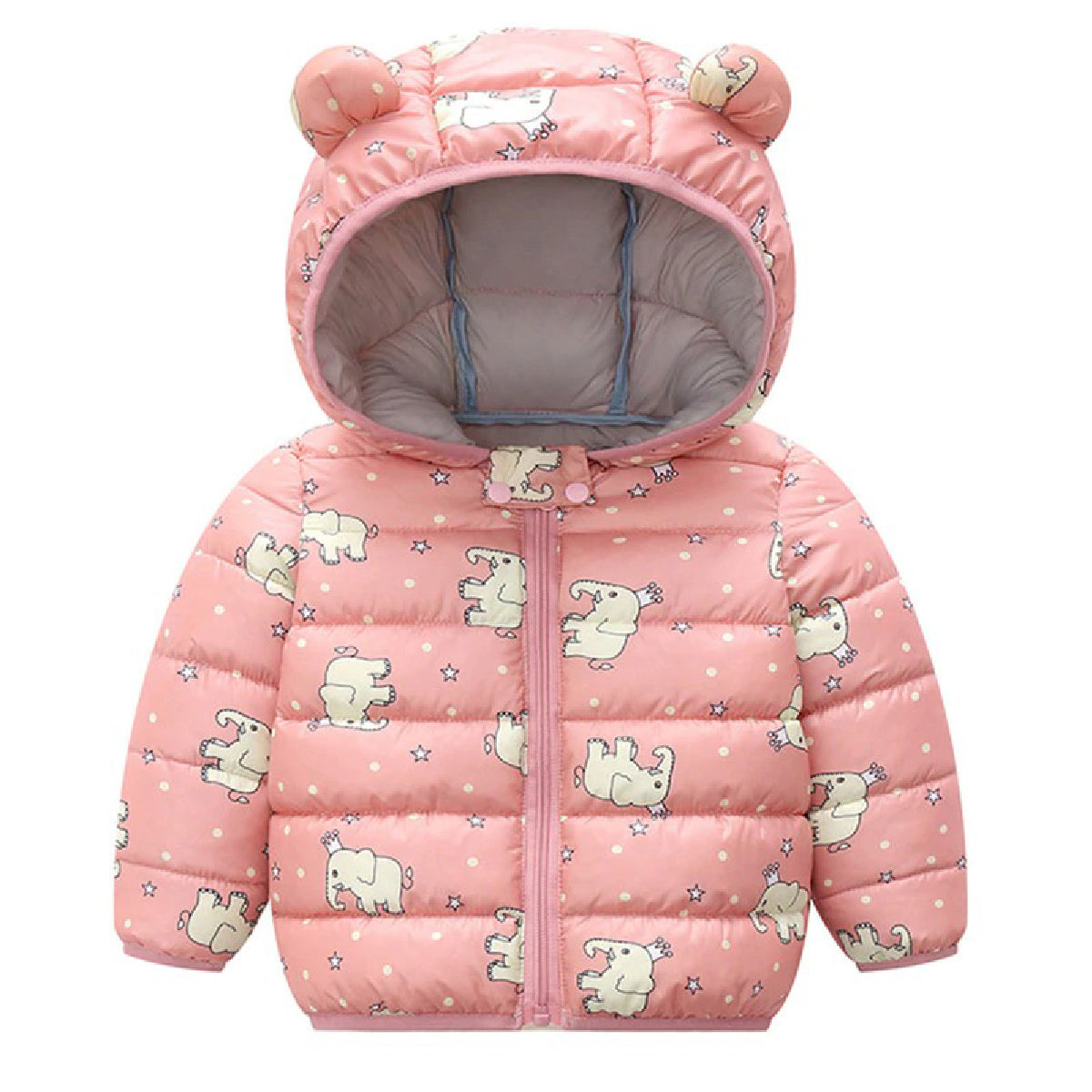 Baby Zone Animal Cartoon Hooded Jacket ™