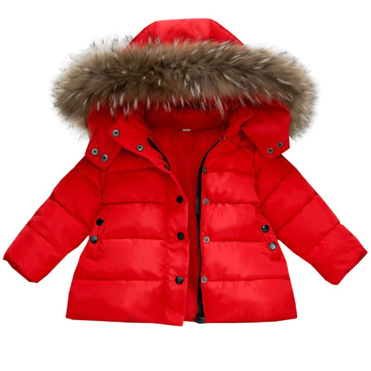 Baby Zone Classic Fur Collar Jacket ™
