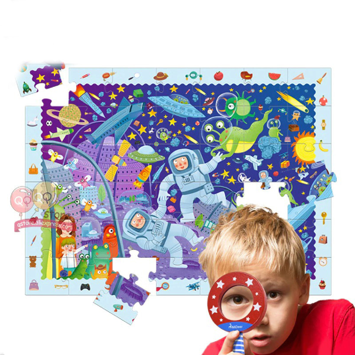 Baby Zone Fun Magnifier Puzzle Game ™