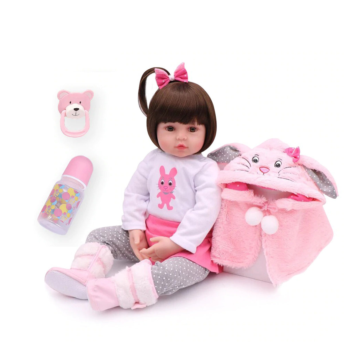 Baby Zone Beautiful Kid Doll ™