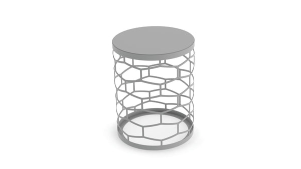 The Stretched Honeycomb Side Table