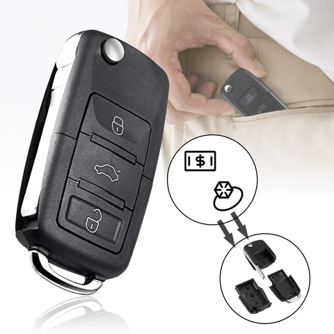 Car Key Safe Compartment Container