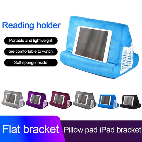 Portable Folding Tablet Holder Pillow Pad