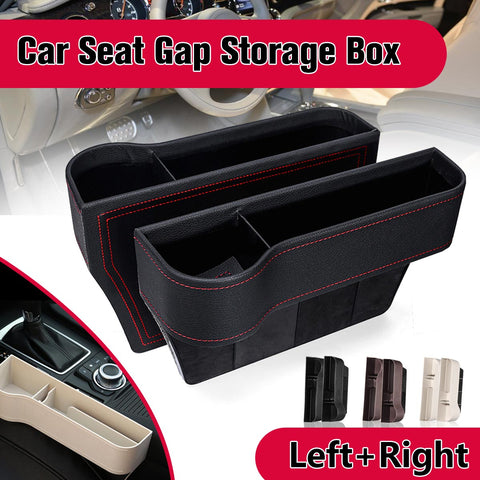 Left / Right Car Seat Crevice Gaps Storage Box