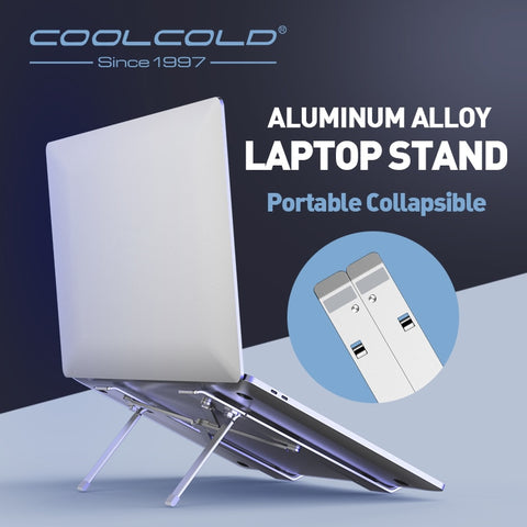 COOLCOLD Laptop Stand Height Adjustable