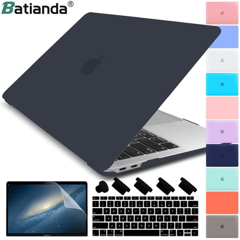 Matte Crystal Plastic Hard Case Cover for MacBook
