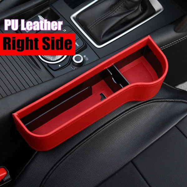 Left/Right Universal Pair Passenger Driver Side Car Seat Gap Storage Box