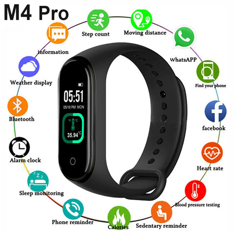 M4 Pro Smart Band Thermometer