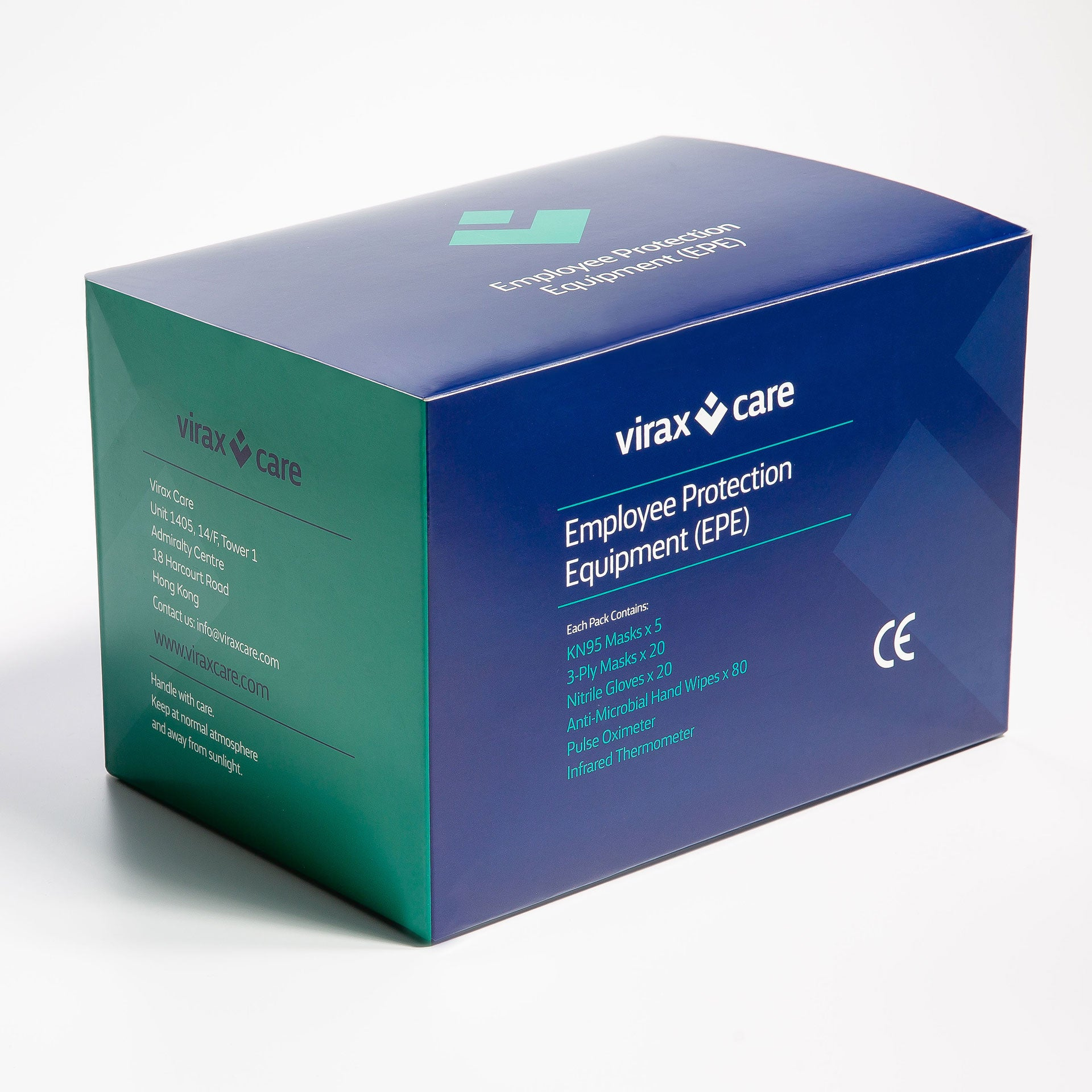 Employee Protection Equipment  (EPE) Plus Box <em>Special offer  £61/$77 per EPE Plus  box, worth over £82/$104*</em>