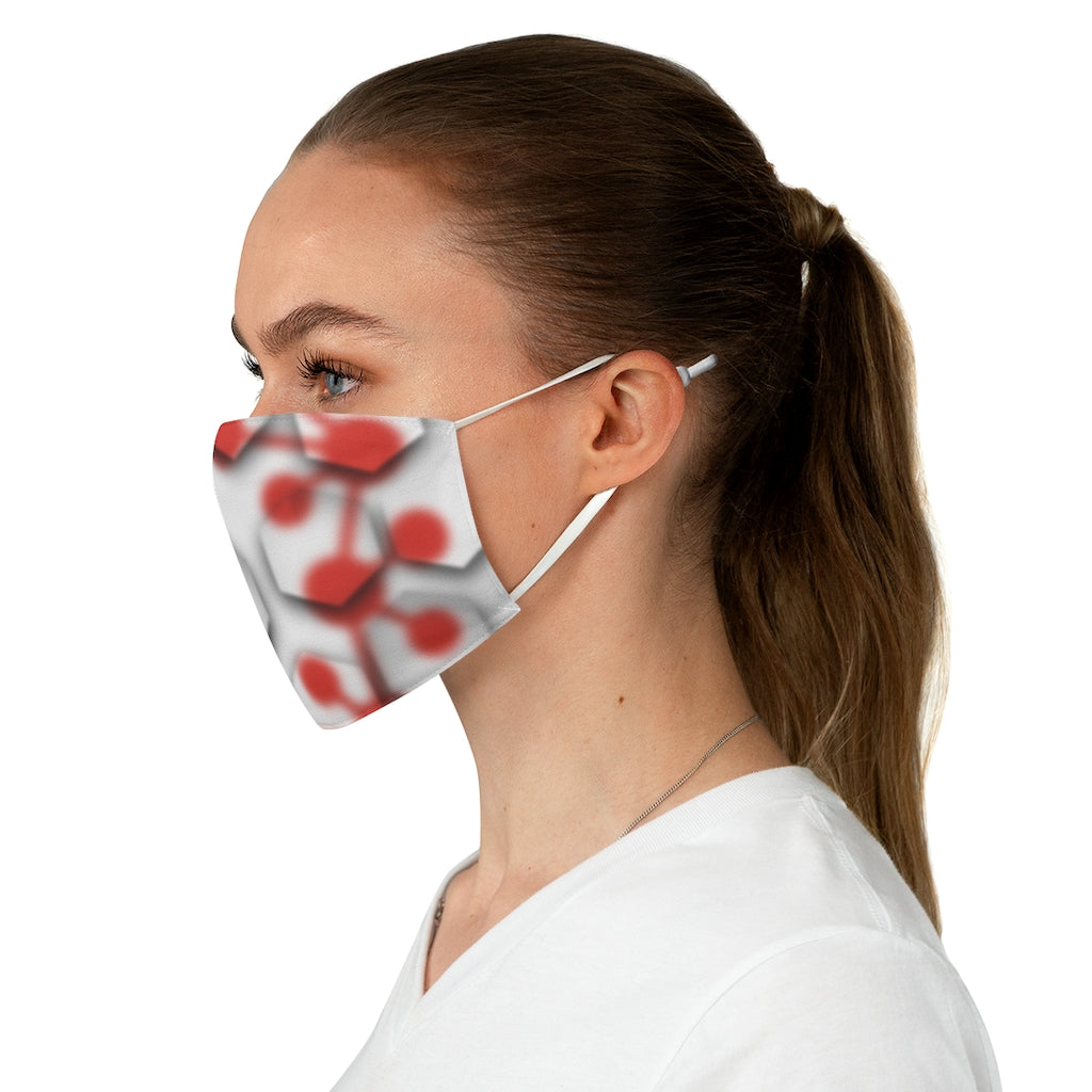Casper Node and Tile Fabric Face Mask