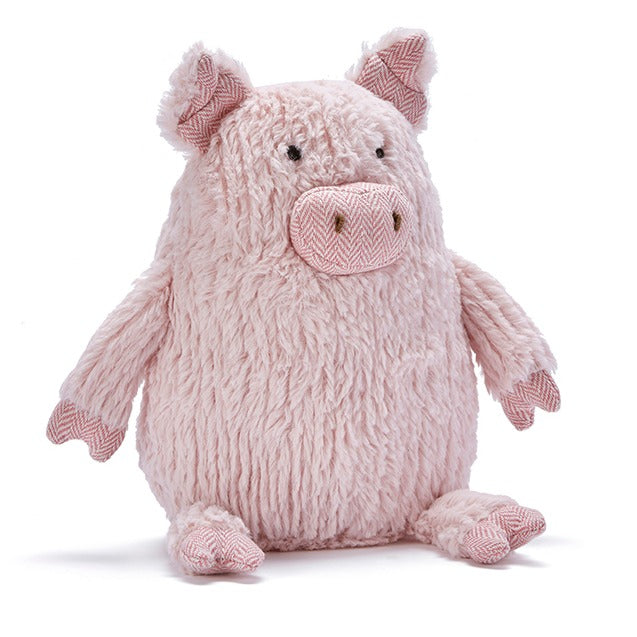 Peggy the Pig super soft pink plush toy for babies and toddlers