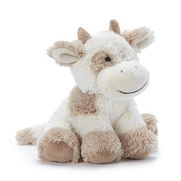 Coco the Cow plush toy in beige