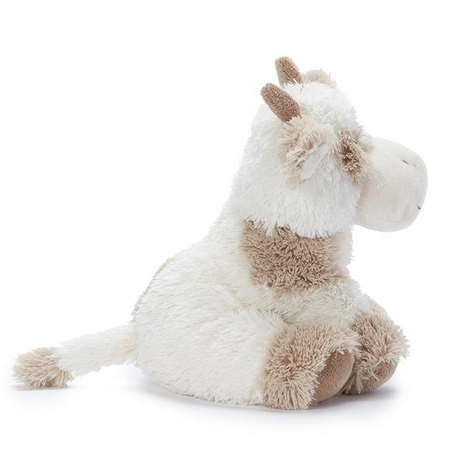 Coco the Cow plush kids toy in beige