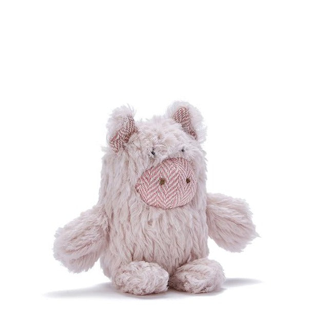 Soft Plush Pig Rattle for Baby or Toddler | Nana Huchy