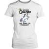 Unicorn Queens Are Born In February Hoodie Tank-Top - Men Women