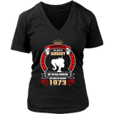 Princess are Born in January But Only Real Princess are Born in January 1973 T-Shirt - Men Women