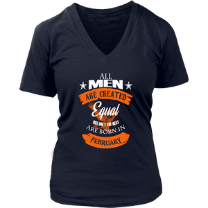 Best Are Born In february Funny Shirt - Men Women
