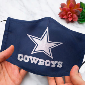 Dallas Cowboys Face Mask