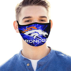 Denver Broncos Face Mask Filter - Men Women