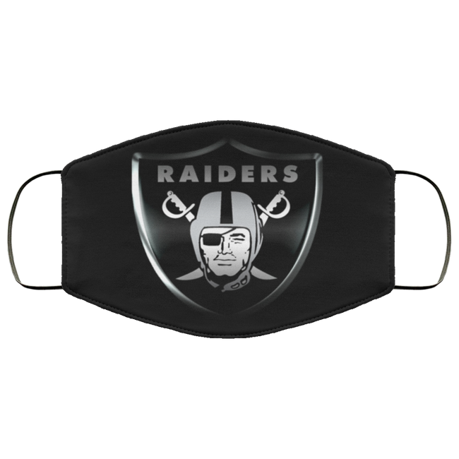 Las Vegas Raiders cloth face masks Filter - Men Women