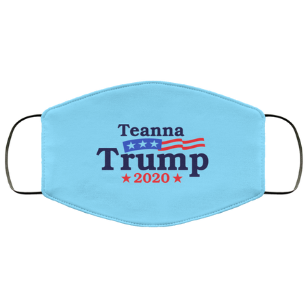 Teanna Trump 2020 Face Mask - Men Women