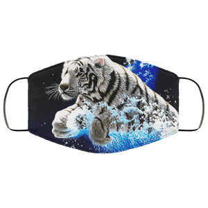 Animated 3D Tigers Face Mask