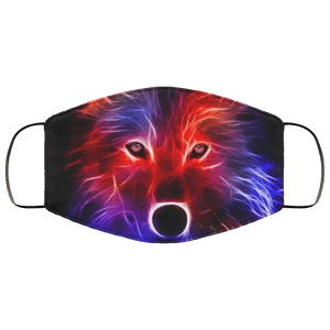 3D Wild Animals Face Mask - Teekoc