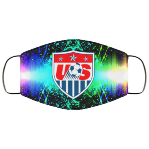 USA Soccer Face Mask - Men Women