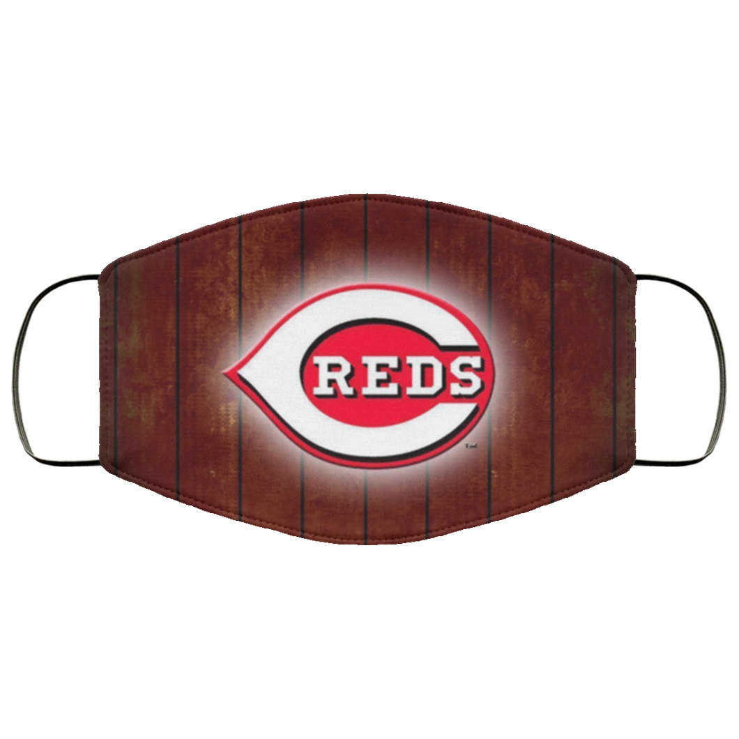Cincinnati Reds face Cloth Face Mask - Men Women
