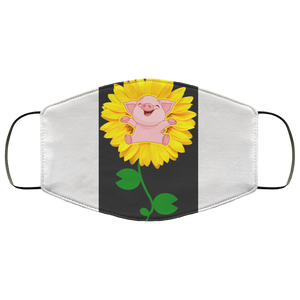 Pig Love Sunflower face mask - Men Women