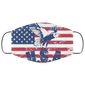 USA Flag of America Face Mask - Men Women