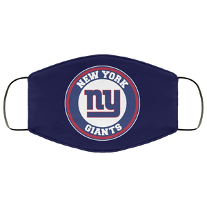 Logo New York Giants Face Mask Filter - Men Women
